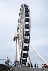Centennial Wheel at Navy Pier Chicago