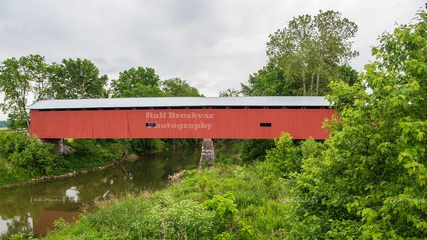 Houck Covered Bridge, Putnam County, Indiana