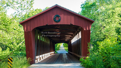 Lancaster Covered Bridge, Carroll County, Indiana