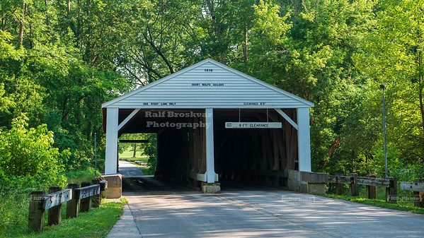Ramp Creek Covered Bridge, Brown County, Indiana