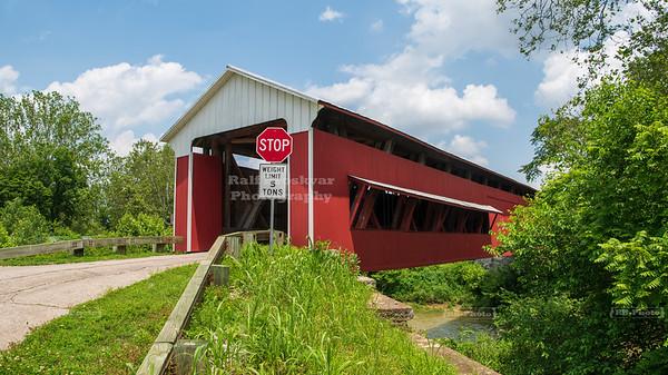 Scipio Covered Bridge, Jennings County, Indiana