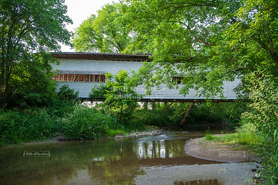Portland Mills Covered Bridge, Parke County, Indiana