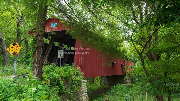 Dick Huffman Covered Bridge, Putnam County, Indiana