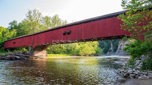 Deer's Mill Covered Bridge, Montgomery County, Indiana