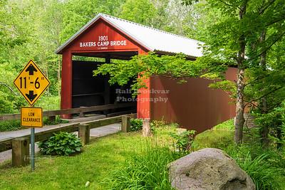 Baker's Camp Covered Bridge, Putnam County, Indiana