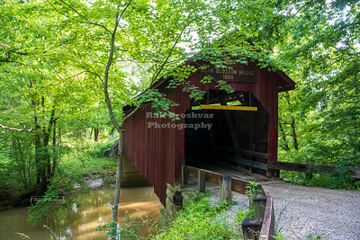 Bean Blossom Covered Bridge, Brown County, Indiana