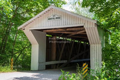 Adams Mill Covered Bridge, Carroll County, Indiana