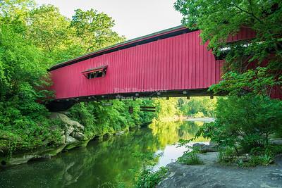 Narrows Covered Bridge, Parke County, Indiana