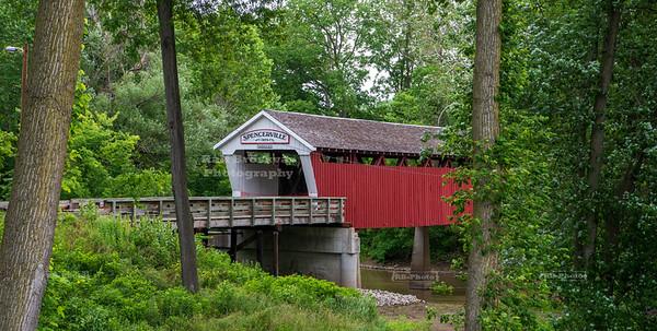Spencerville Covered Bridge, De Kalb County, Indiana