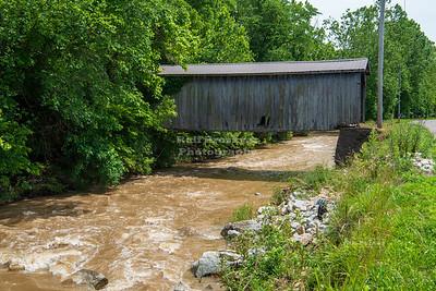 Seal Barn Covered Bridge, Fayette County, Indiana