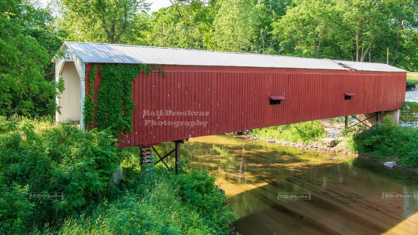 Cades Mill Covered Bridge, Fountain County, Indiana