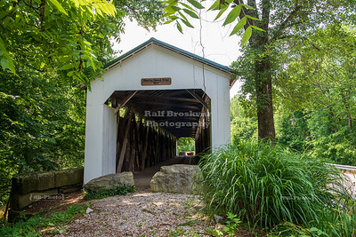 Wheeling Covered Bridge, Gibson County, Indiana