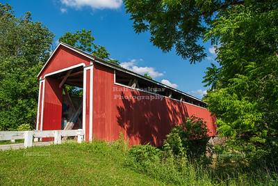 Stockheughter Covered Bridge, Franklin County, Indiana