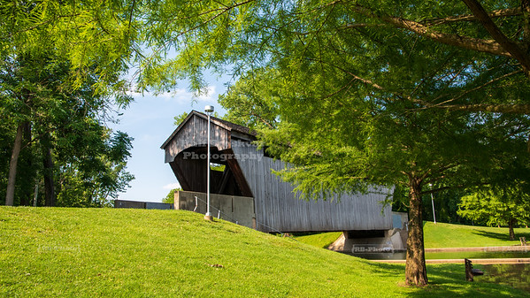 Brownsville-Mill Race Park Covered Bridge, Bartholomew County, Indiana