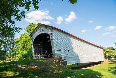 Longwood Covered Bridge, Fayette County, Indiana