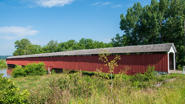 Medora Covered Bridge, Jackson County, Indiana