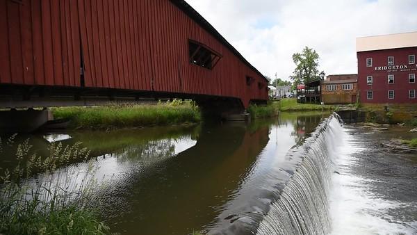 Bridgeton Covered Bridge, Parke County, Indiana