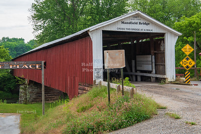 Mansfield Covered Bridge, Parke County, Indiana