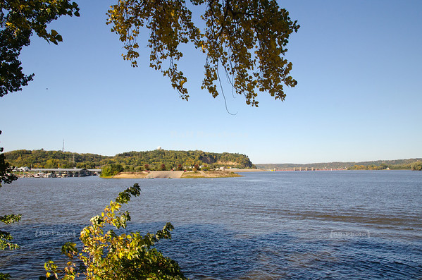 Scenic view in Dubuque, Iowa