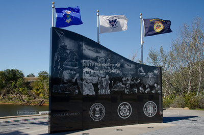 Veterans Memorial Plaza in Dubuque, Iowa