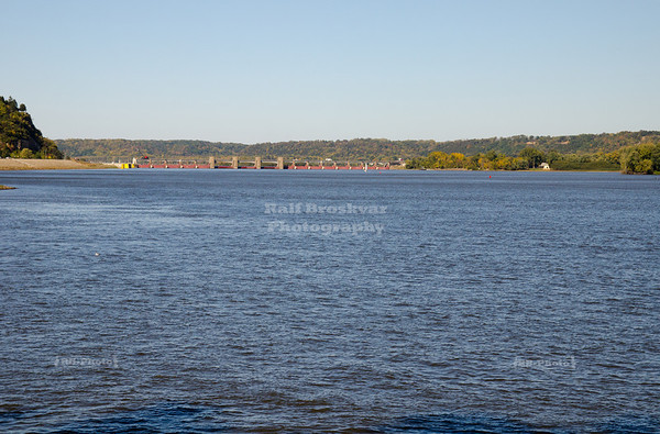 Mississippi River in Dubuque, Iowa