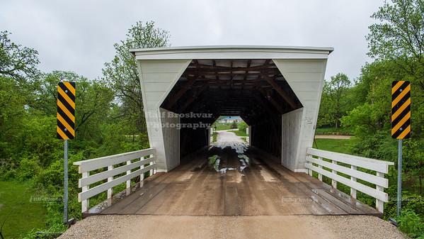 Cedar Covered Bridge Winterset, Madison County, Iowa