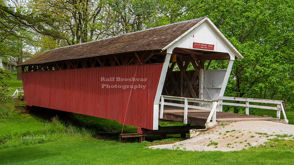 Cutler-Donahue Covered Bridge, Winterset, Madison County, Iowa