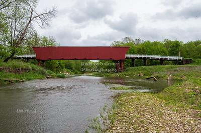 Roseman Covered Bridge, Winterset, Madison County, Iowa