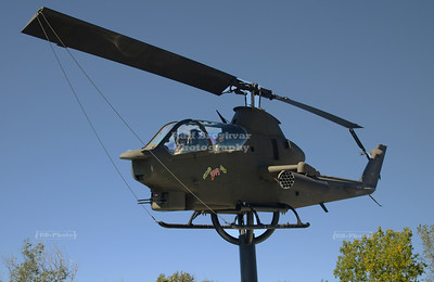 AH-1S Huey Cobra Attack Helicopter