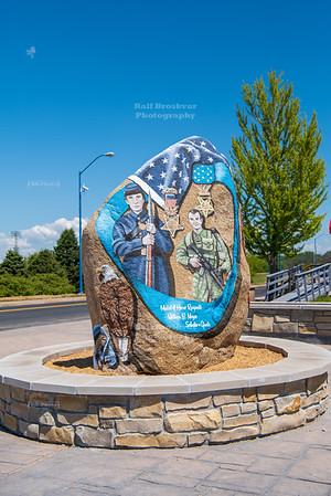 Clinton County Freedom Rock, Iowa