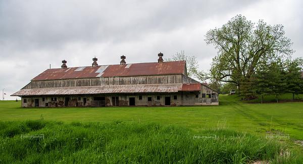 Rustic Barn in East Amana, Iowa