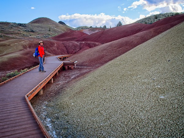 Painted Hills - Painted Cove