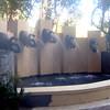fountain at Mandalay Bay