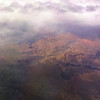 View from the plane over the Grand Canyon
