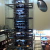 Wine storage and automated bottle retriever system at the Mandalay Bay