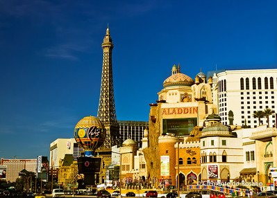 Casinos on Las Vegas Strip, Las Vegas, USA