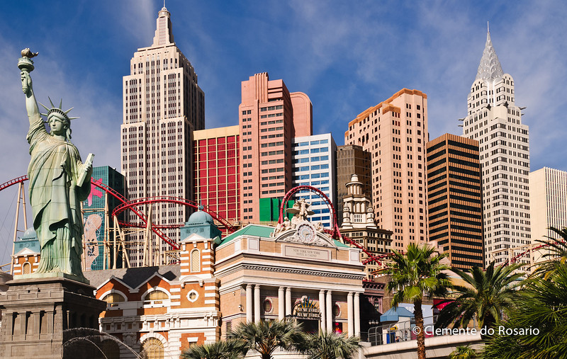 New York New York Hotel & Casino, Las Vegas, USA