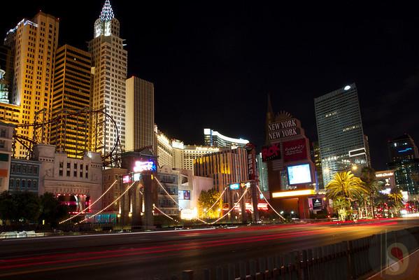 Las Vegas Strip at night : USA