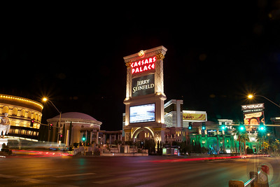 Las Vegas Strip at night : USA