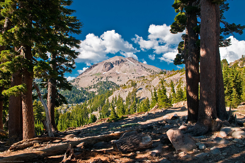 View of Lassen Peak