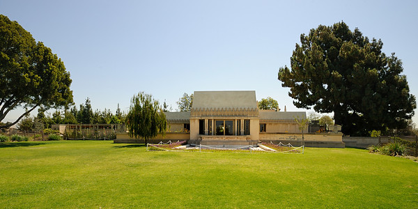 Hollyhock House - 1921 by Frank Lloyd Wright | 2010