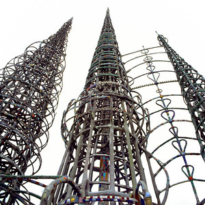 Watts Towers I 1921-1954 by Simon Rodia | 1727 East 107th Street | 1993