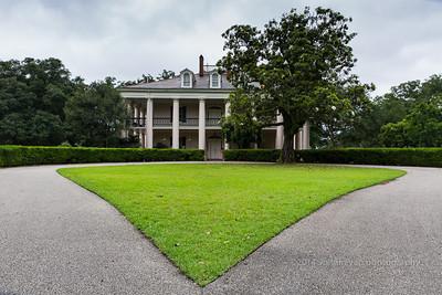 Oak Alley Plantation Front Entrance