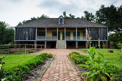 Backside of Laura Plantation.