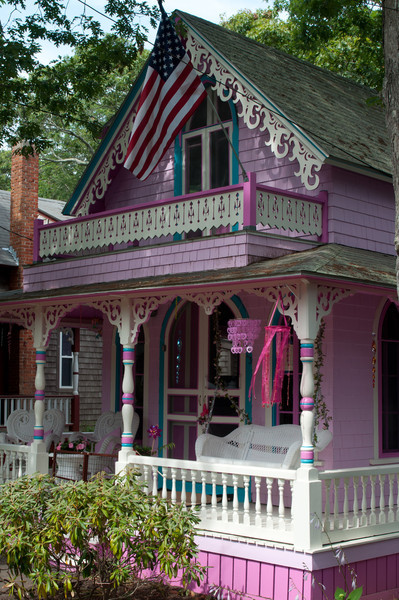 Campground Cottages - How about Pink?