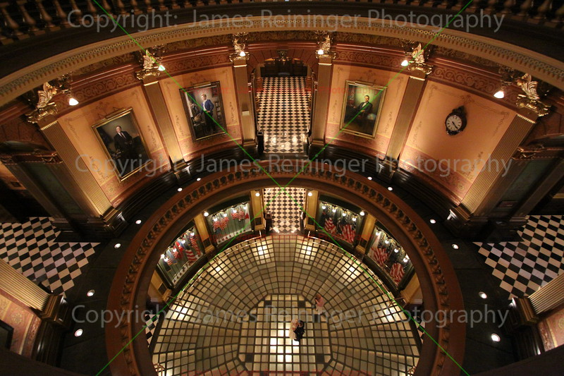 Rotunda (Looking down from the 4th floor)