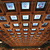 Glass Ceiling of the House Chambers (From the 4th floor balcony)
