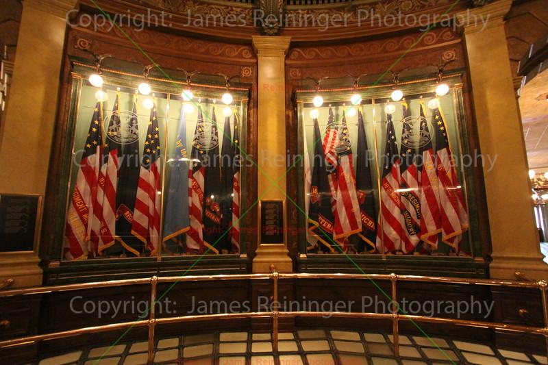 Flags (2nd floor of the Rotunda)