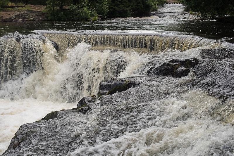 Bond Falls of the Ontonagon River