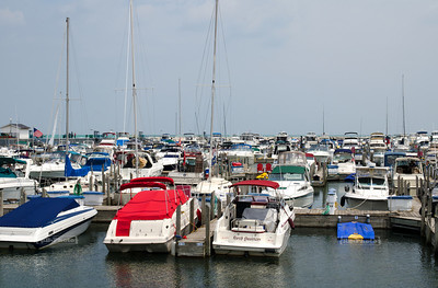 The marina in Hammond, Indiana